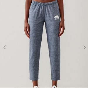 NWOT Roots cropped lightweight sweatpants